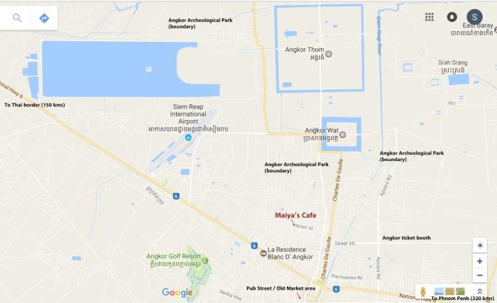 Maiyas Cafe map 01
